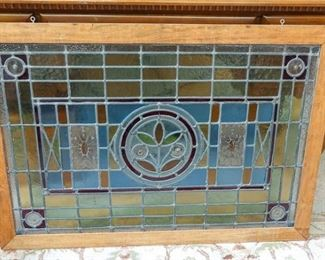 7. Antique Stained Glass Window