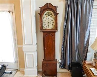 9. Antique Tall Case Clock