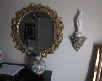 Ornate Mirrors and More