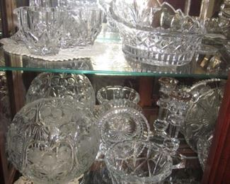 Tons of Crystal, Waterford, Mikasa and more