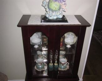 Accent Cabinet With Tea Cups and more