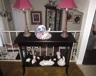 Lighting, Accent table and more