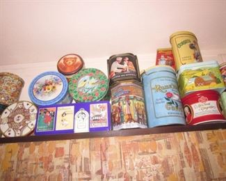 Tons of Collectible Tins