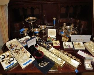 Ms. Terhes jewelry. Some of these pieces were worn to events at the White House