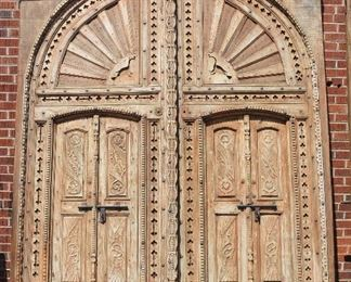 Antique Castle Doors