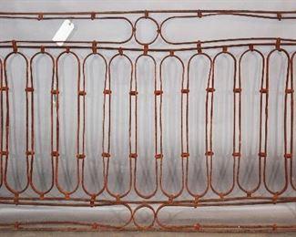 Antique Iron Balustrade