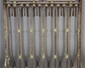 Antique Iron Panel