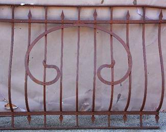 French Louis XVI Style Wrought Iron Balcony
