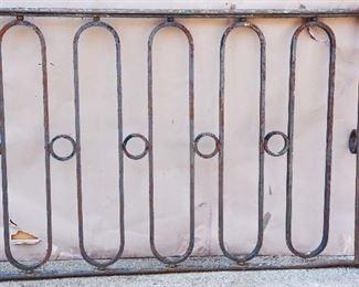 French Wrought Iron Balcony