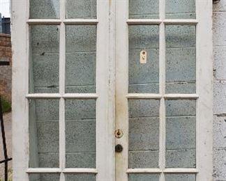 Walnut Double Door