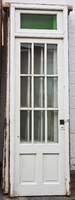 Set of Four Antique Wood Doors