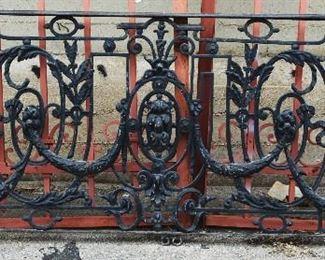 French Louis XV Wrought Iron Balcony