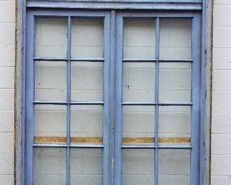 Antique Walnut Double Door set