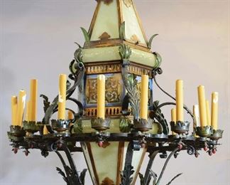 Spanish Colonial Style Palatial Chandelier