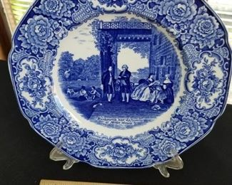 003 Crown Ducal Wedgwood George Washington Plates