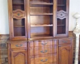 004 Gorgeous Fancher Wood Hutch