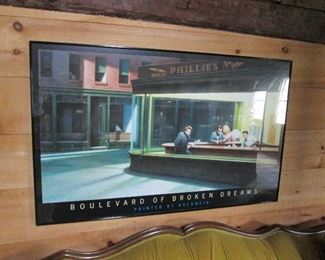 Boulevard of Broken Dreams Print - James Dean, Marilyn Monroe, Bogart etc.