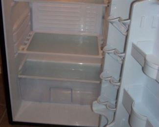 Inside view of small Refrigerator