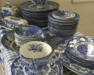 We have A LOT of Lochs of Scotland Royal Warwick dishes, most not pictured