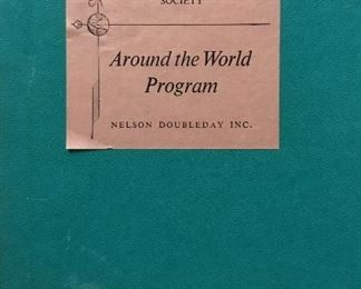 American Geographical Society Around the World Program