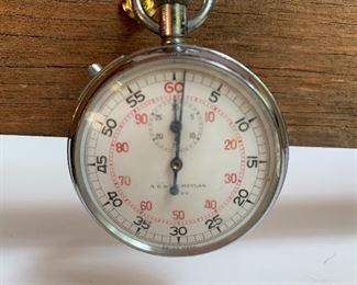 Vintage A.R. & J.e. Meylan mechanical wind up stop watch