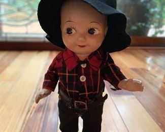 Beautiful condition 1950's Buddy Lee doll