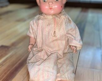 1920's composition baby doll
