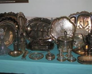 Silver plate and some sterling