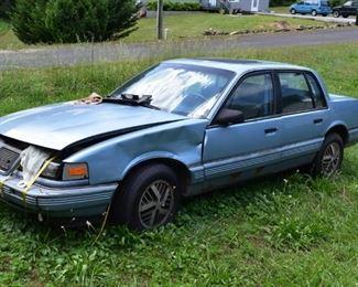 Pontiac Car !! Needs works!