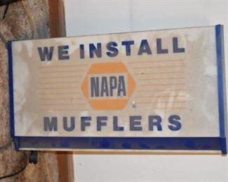 Old Napa Mufflers Sign!