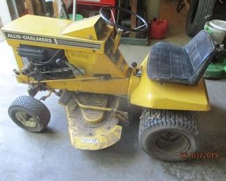 one of the vintage mowers