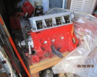 and the new rebuilt 4 cylinder Some assembly required