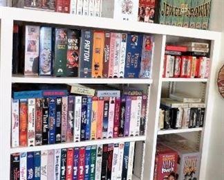 Movies.. many sets VCR