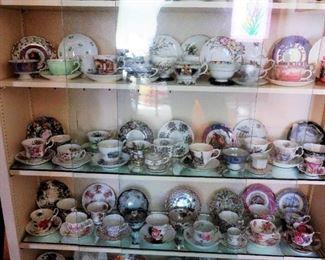 Tea cups.. over 80!!