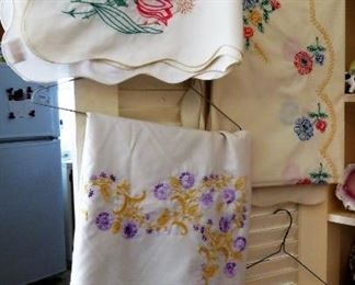 Hand Embroidered table clothes