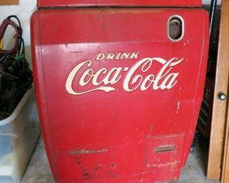 Vintage 1950's Coca-Cola chest cooler