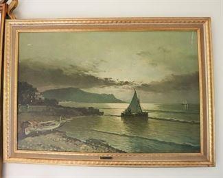 Seaside print