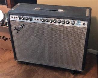 Vintage Fender Twin Reverb Tube Amp