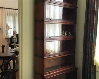 Will you look at the height of this Stacking  bookcase!  We have Two
