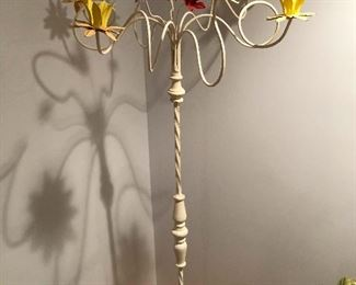 Here it is, the candelabra I was talking about earlier! I love this thing! It's old and awesome!