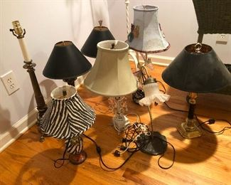 a small army of lamps awaiting your orders