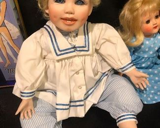 "Overly-earnest ""I'm Innocent, I Tell You"" Doll"