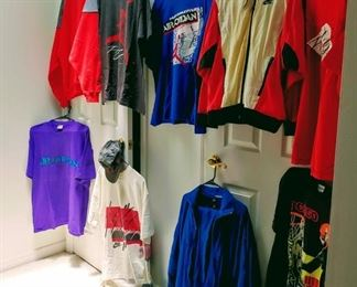 11 piece lot of Vintage Nike Flight/ Air Jordan clothes
