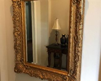 Gorgeous Gold Gilt Mirror