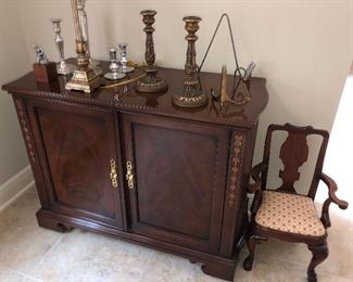child's victorian chair  Bar Cabinet