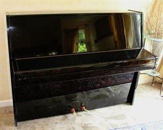 """Steinway """"Z"""" Model Upright Piano 44"""" x 55 1/2"""" x 23"""""""