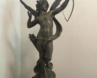 EROS Salon 1907 French Sculpture par Aug. Moreau$2,950