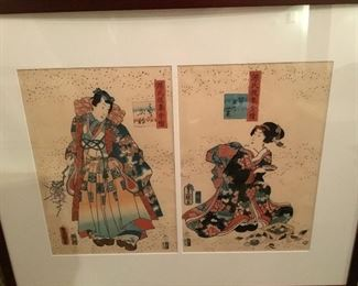 Japanese art signed by the artist