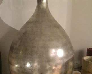 Cool silver lamp $50