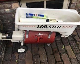 Lobster brand electric tennis ball feeder